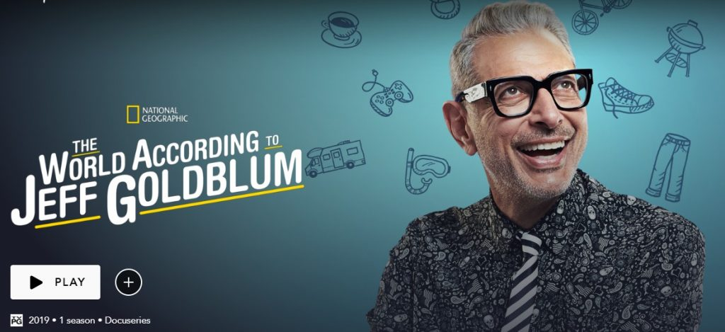 The WOrld According to Jeff Goldblum review
